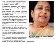 Asha Mirje blames Delhi Gang Rape victim for being raped