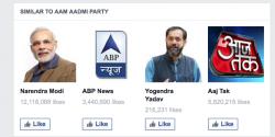 Media exploiting Modi popularity for TRPs