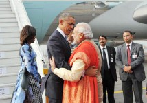Prime Minister Mr. Modi with Barak